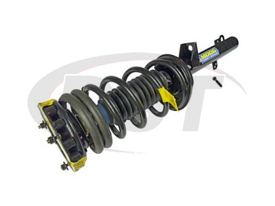 Rear Coil Spring and Strut Assembly - Sedan