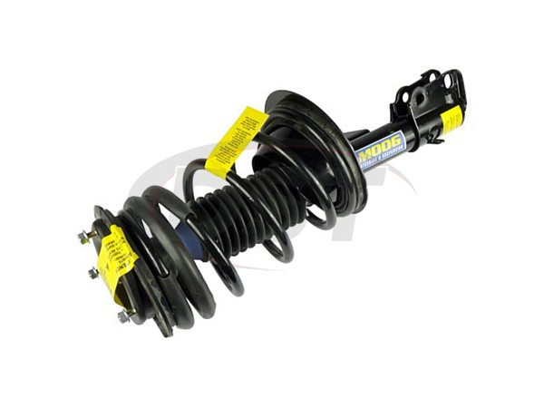 Front Coil Spring and Strut Assembly - Driver Side - Sedan