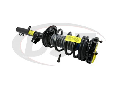 Rear Coil Spring and Strut Assembly - 3.0L - Sedan