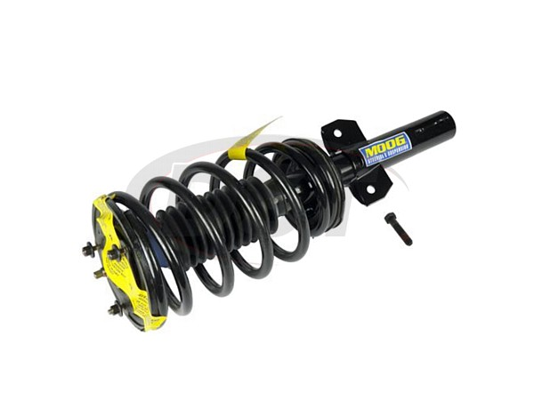 Front Coil Spring and Strut Assembly - Rear Air Suspension Models