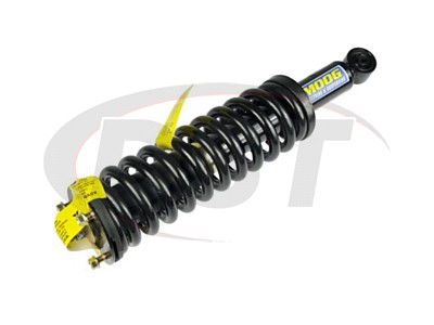 Front Coil Spring and Strut Assembly - Driver Side - 4WD