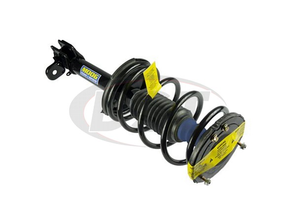 Rear Coil Spring and Strut Assembly - Driver Side