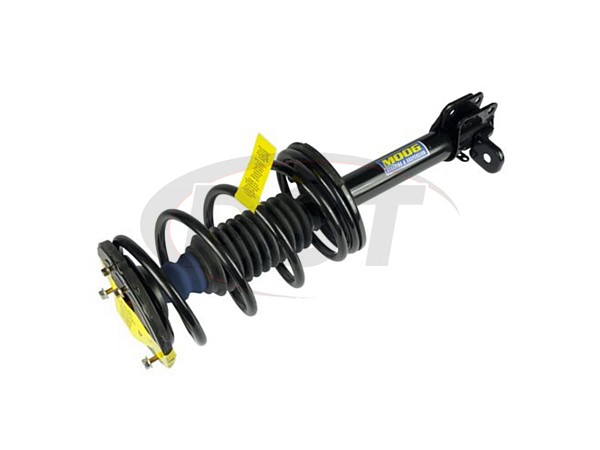 Rear Coil Spring and Strut Assembly - Passenger Side