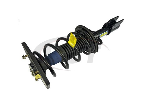 Rear Coil Spring and Strut Assembly - Driver Side - Police and Taxi