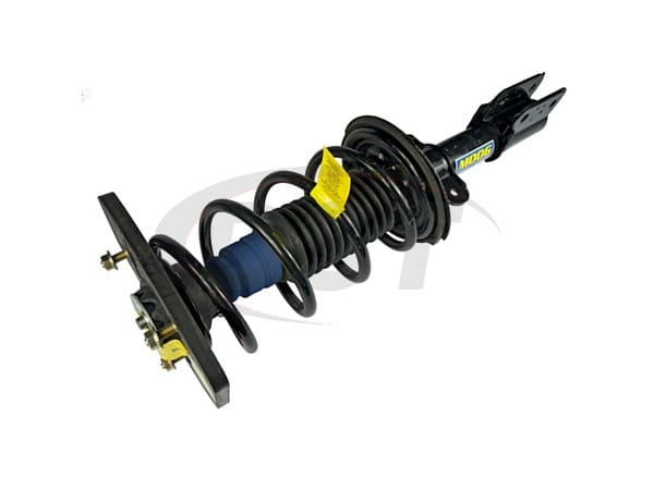 moog-st8559l Rear Coil Spring and Strut Assembly - Driver Side - Police and Taxi