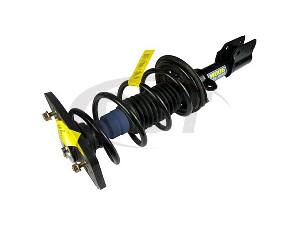 Rear Coil Spring and Strut Assembly - Passenger Side - Police and Taxi