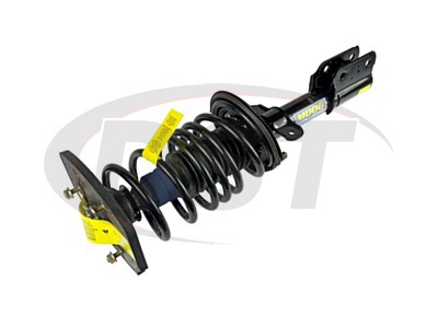 Rear Coil Spring and Strut Assembly - Driver Side - 16 Inch Wheels - non Police or Taxi