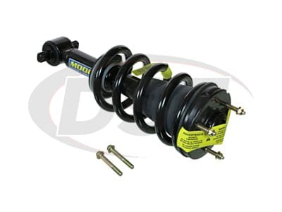 Moog Front Coil Springs and Struts for Silverado 1500, Sierra 1500