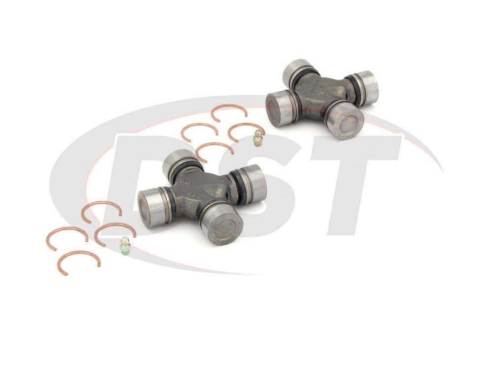 moog-ujoint-packagedeal1041 U Joint Package - Buick Rainier 2WD 04-07