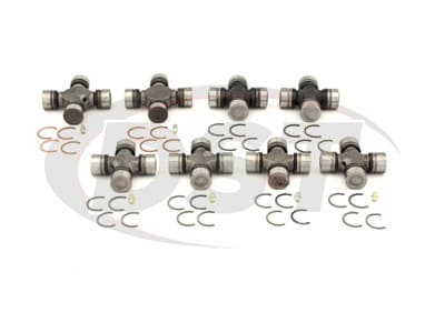 U Joint Package - Dodge W200 4WD 75-76