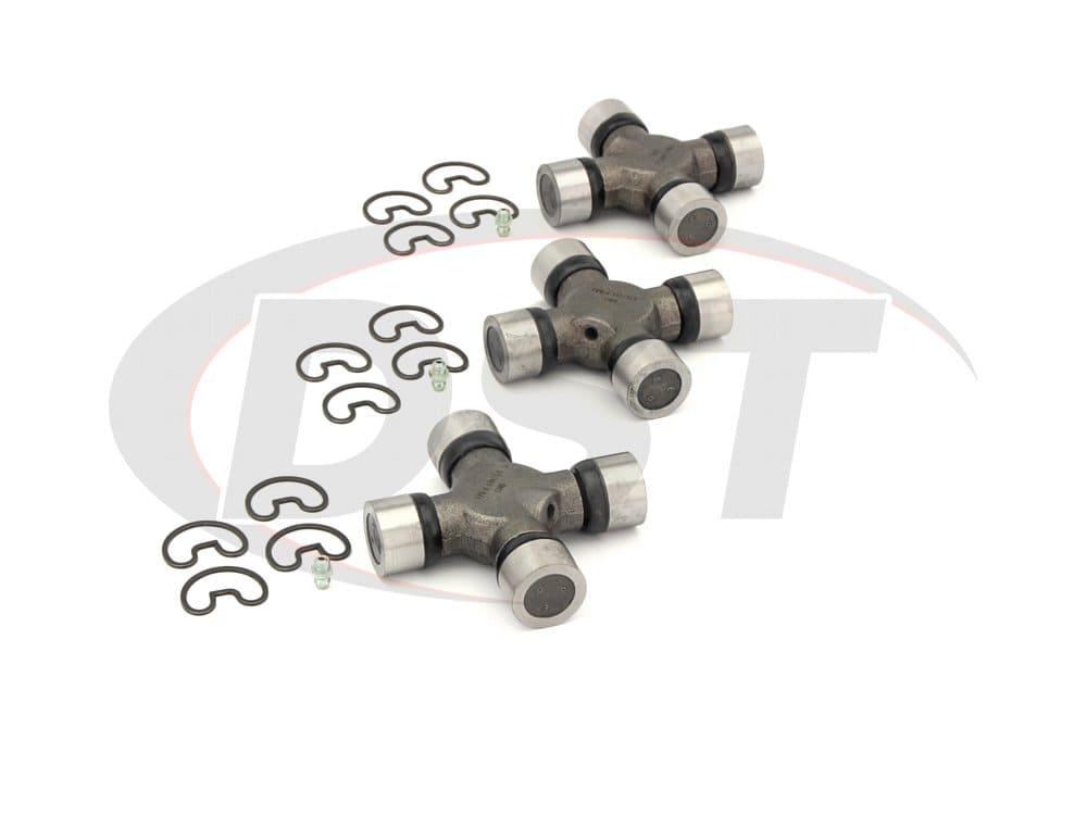 moog-ujoint-packagedeal256 U Joint Package - Dodge Ram 3500 2WD 97-02