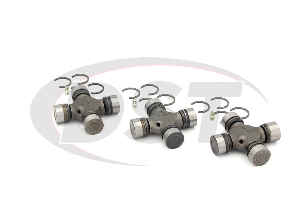 moog-ujoint-packagedeal257 U Joint Package - Dodge D350 2WD 90-96 (Execpt Turbo Diesel and V-10)