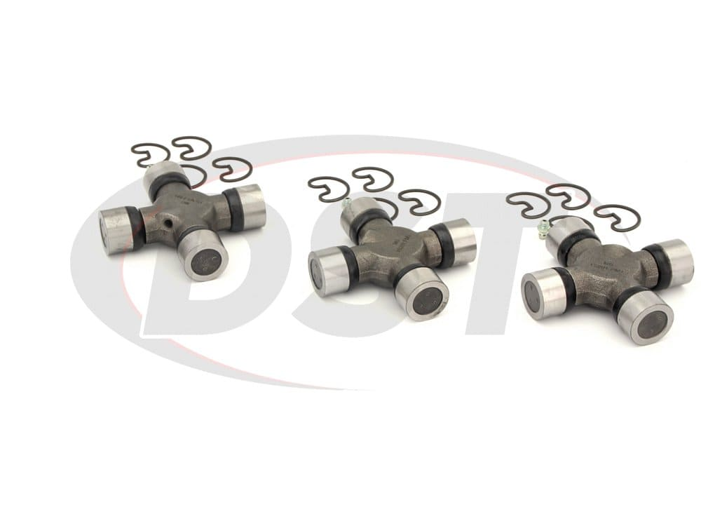 moog-ujoint-packagedeal258 U Joint Package - Dodge D350 2WD 90-96 (Turbo Diesel and V-10 Only)