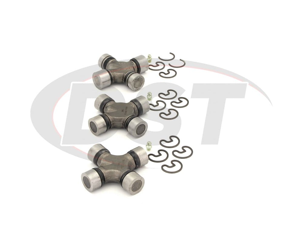 moog-ujoint-packagedeal363 U Joint Package - Ford E-250 Econoline 2WD 1990