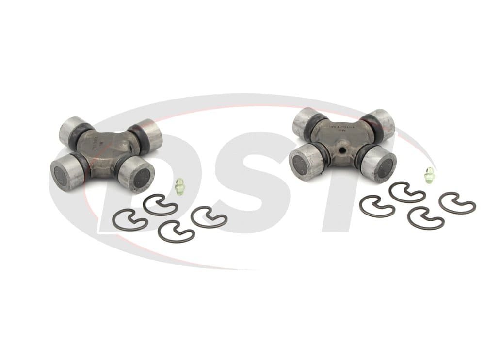 moog-ujoint-packagedeal364 U Joint Package - Ford E-250 Econoline 2WD 1989