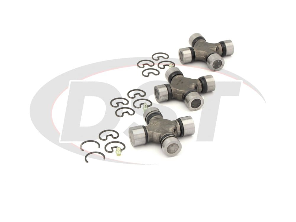 moog-ujoint-packagedeal408 U Joint Package - Ford E-350 Econoline 2WD 1990