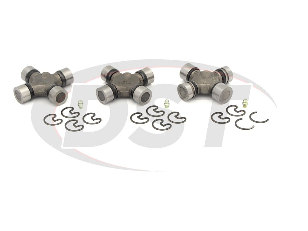 moog-ujoint-packagedeal409 U Joint  Package - Ford E-350 Econoline 2WD 1989