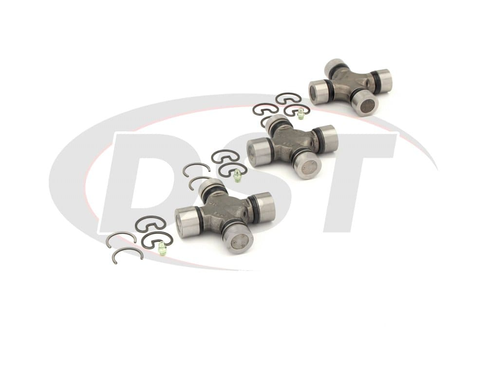 moog-ujoint-packagedeal411 U Joint Package - Ford E-350 Econoline 2WD 84-86