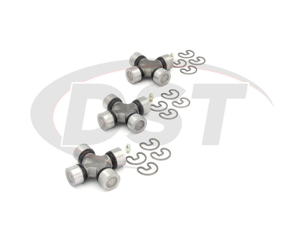 moog-ujoint-packagedeal415 U Joint Package - Ford E-300 Econoline 2WD 68-74