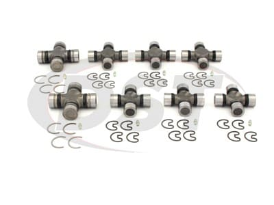 U Joint Package - Ford F-250 4WD 99-04 (All Models with V-10 or Turbo Diesel)