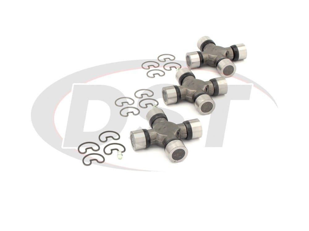 moog-ujoint-packagedeal523 U Joint Package - Chevrolet Silverado and GMC Sierra 2500 2WD 05-06