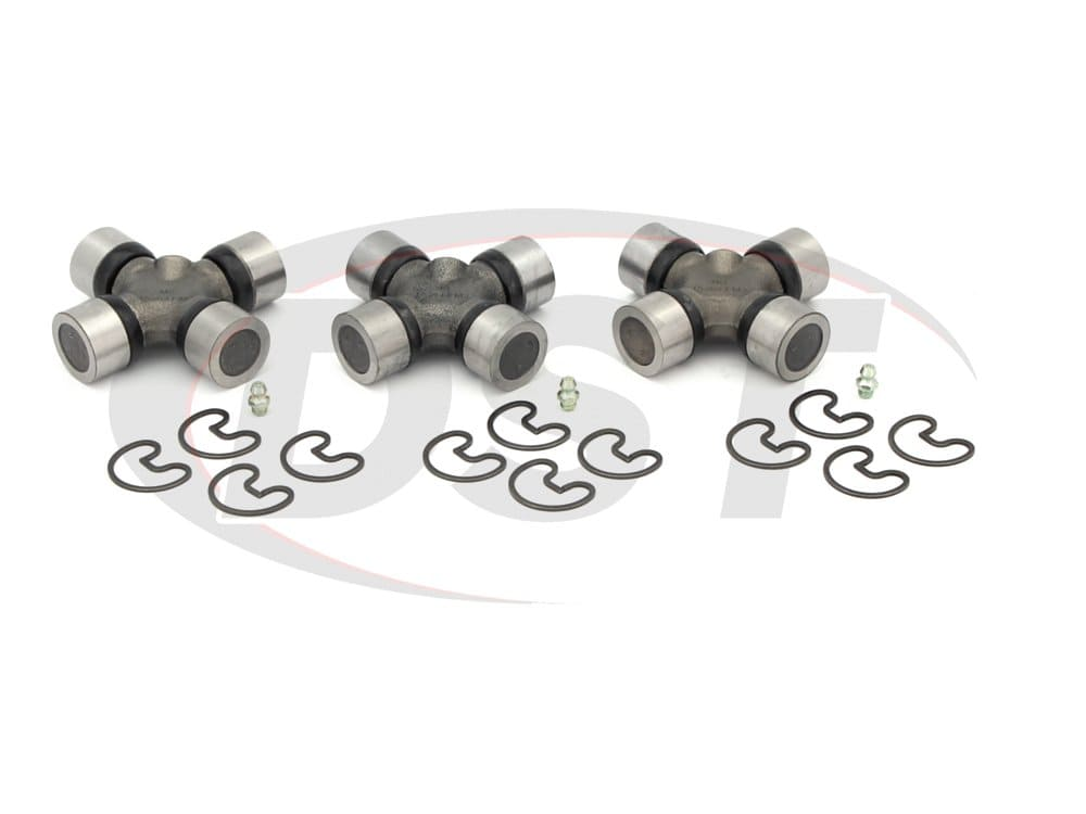 moog-ujoint-packagedeal527 U Joint Package - Chevrolet and GMC C2500 2WD 89-90