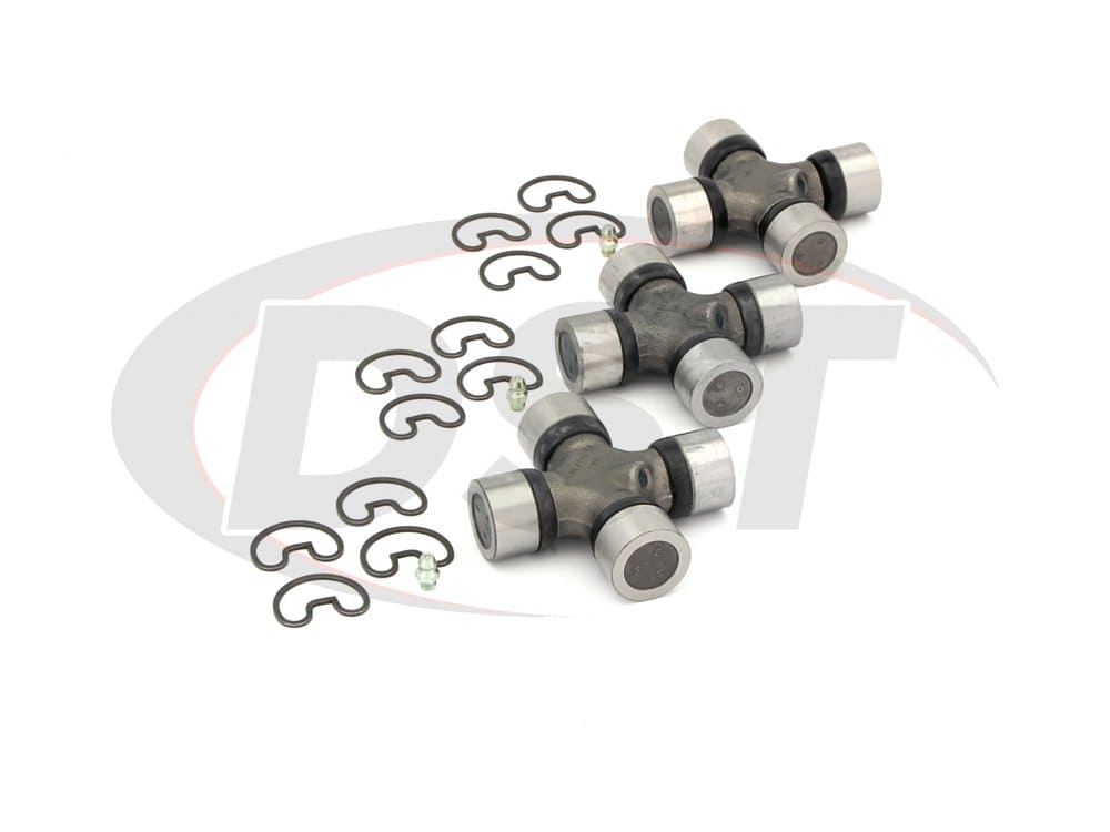 moog-ujoint-packagedeal534 U Joint Package - Chevrolet C20 and GMC C25 Pickup 2WD 67-72