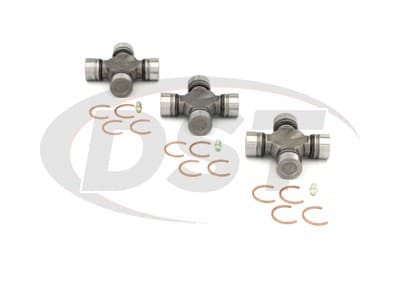 U Joint Package - Chevrolet G20 & GMC G2500 2WD 85-91