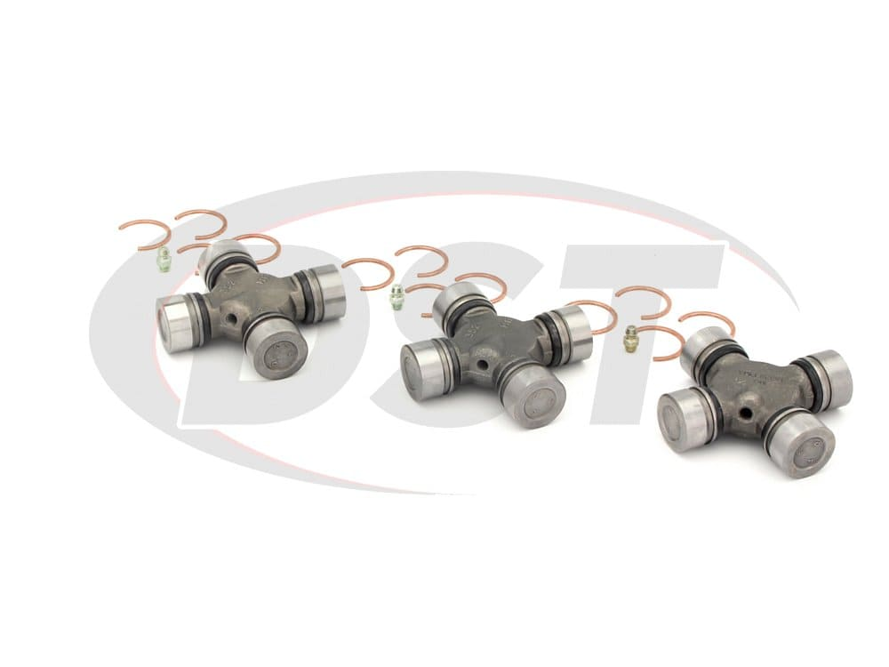 moog-ujoint-packagedeal543 U Joint Package - Chevrolet G20 and GMC G2500 2WD 1984