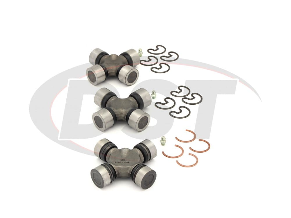 moog-ujoint-packagedeal545 U Joint Package - Chevrolet G20 and GMC G2500 2WD 1981