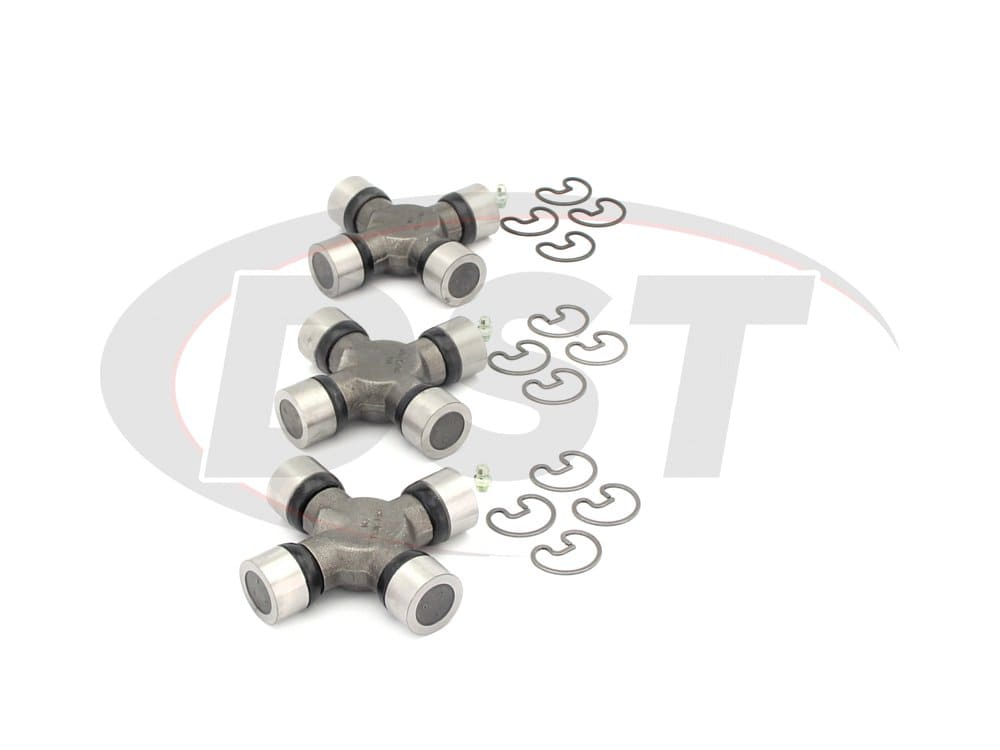 moog-ujoint-packagedeal553 U Joint Package - Chevrolet and GMC C3500 2WD 97-00 (Pick Up Only)