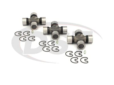 U Joint Package - Chevrolet G30 & GMC G3500 2WD 82-84