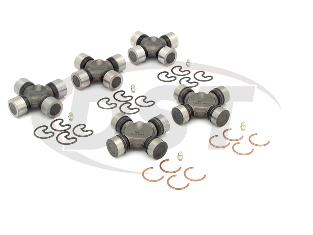 moog-ujoint-packagedeal588 U Joint Package - Chevrolet K1500 4WD 97-98 (Extended Cab Only)