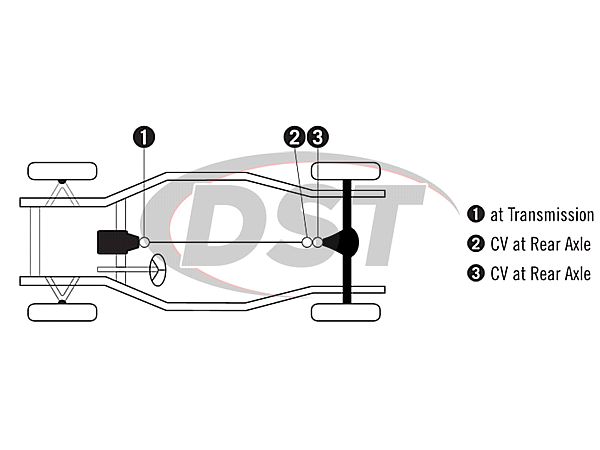 moog-ujoint-packagedeal795 U Joint Package - Buick Riviera 71-76