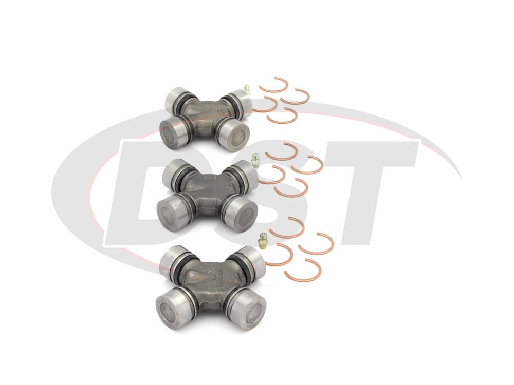 moog-ujoint-packagedeal829 U Joint Package - Chevrolet Bel Air, Biscayne, Caprice, and Impala 71-75