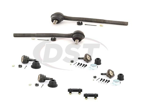 pont-ventura-73-74-moog-front-end-rebuild-kit Front End Steering Rebuild Package Kit
