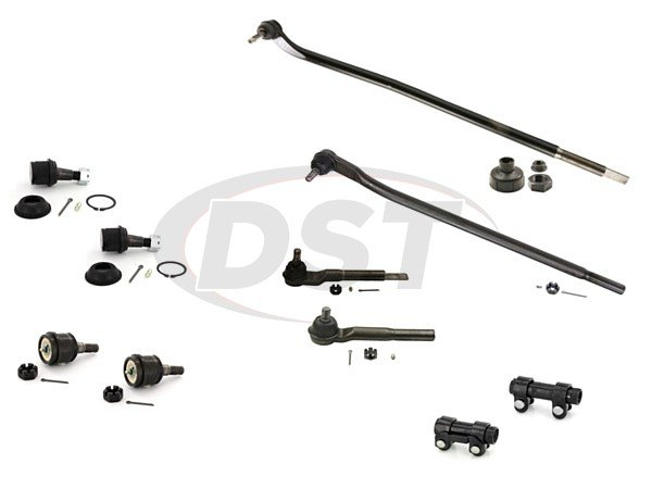 ram-3500-4wd-2013-moog-front-end-rebuild-kit Front End Steering Rebuild Package Kit