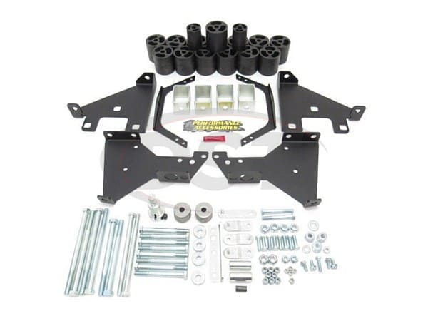 pa10302 Body Lift Kit - 2 Inch Lift