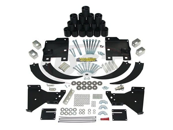 pa10333 Body Lift Kit - 3 Inch - Gas Engine