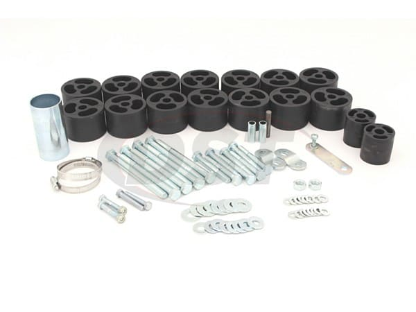 Body Lift Kit - 2 Inch - Extended Cab Only