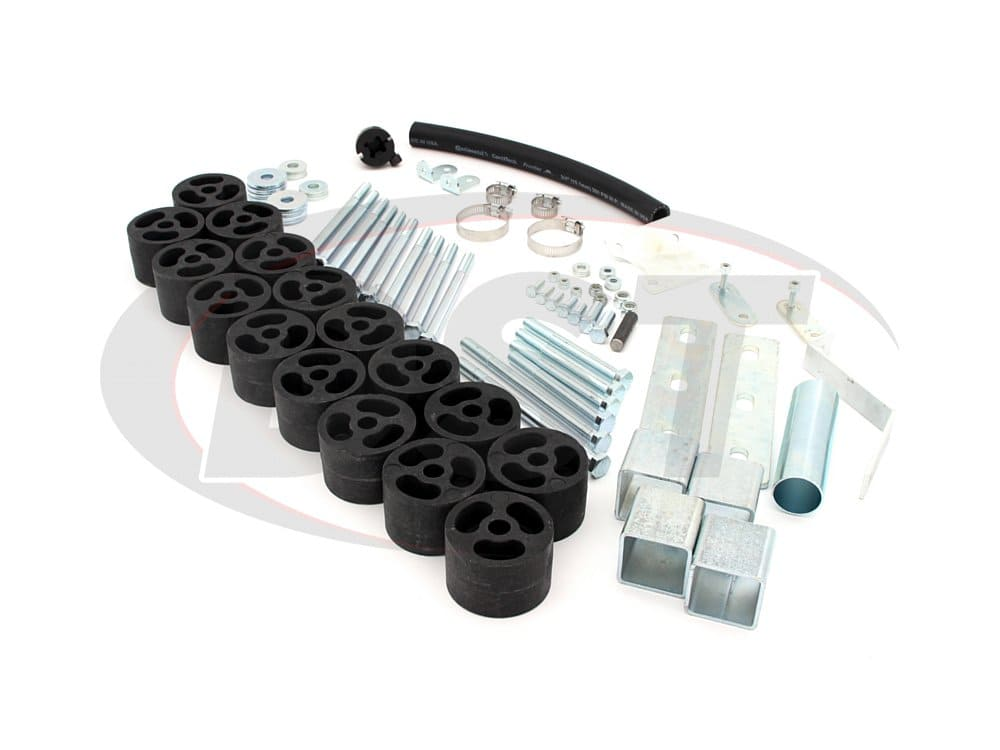 pa862 Body Lift Kit - 2 Inch - Gas