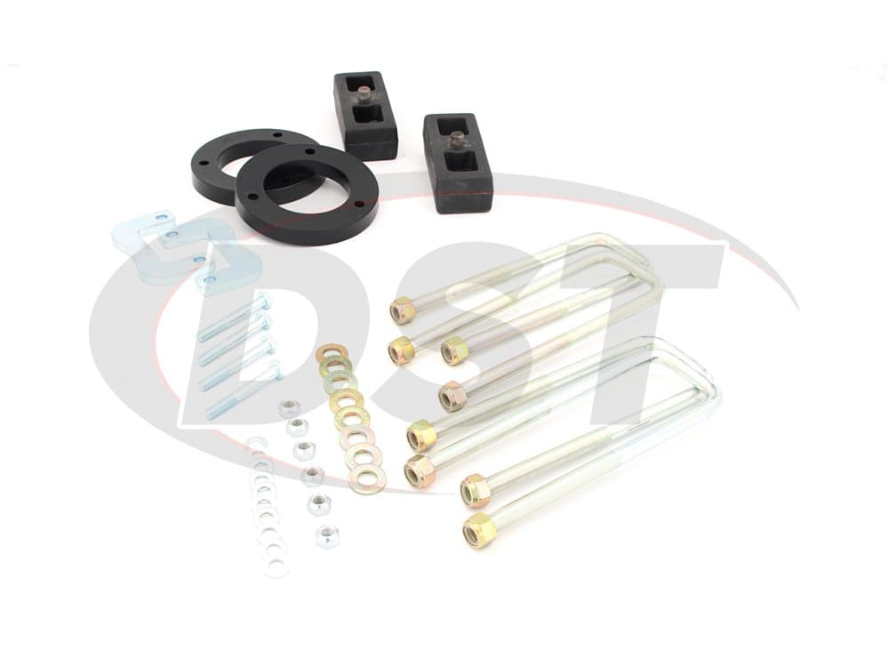 pacl231pa Lift and Leveling Kit - 2 Inch Front and 1 Inch Rear