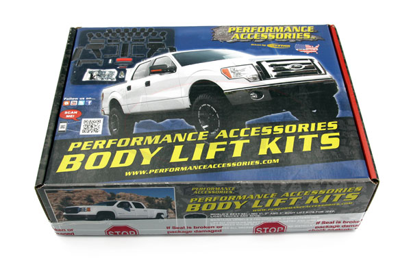 Performance Accessories Lift Kit Box