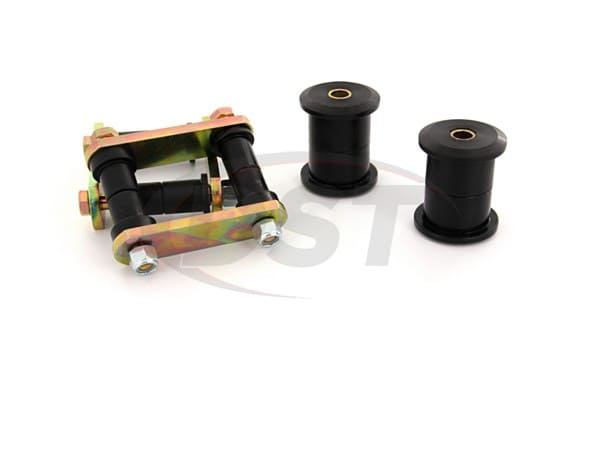 Rear Leaf Spring Bushings and Shackles
