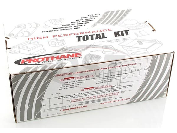 12017 Total Kit - Wrangler JK 4 Door