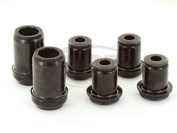 Front Control Arm Bushings with Upper and Lower Outer Shells