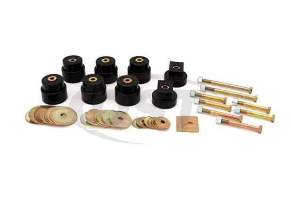 Body Mount Bushings - Standard and Crew Cab