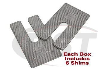 Universal Truck Axle Shims