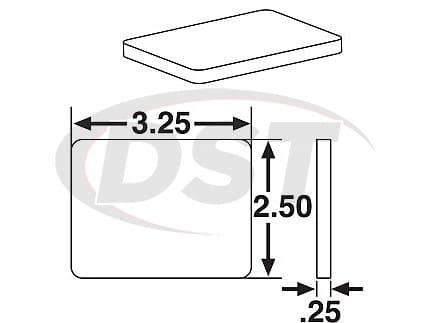 spc-25608 JOUNCESHOCK TARGET PLATE