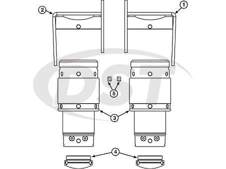 spc-25872 JS SYSTEM H3 HUMMER(FRT)
